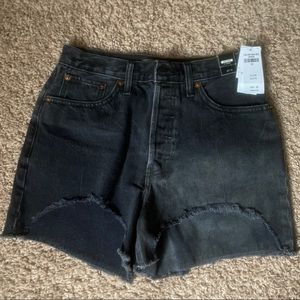 Abercrombie high rise shorts